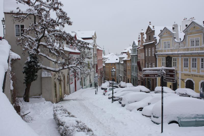 Когда лучше ехать в Прагу: зима