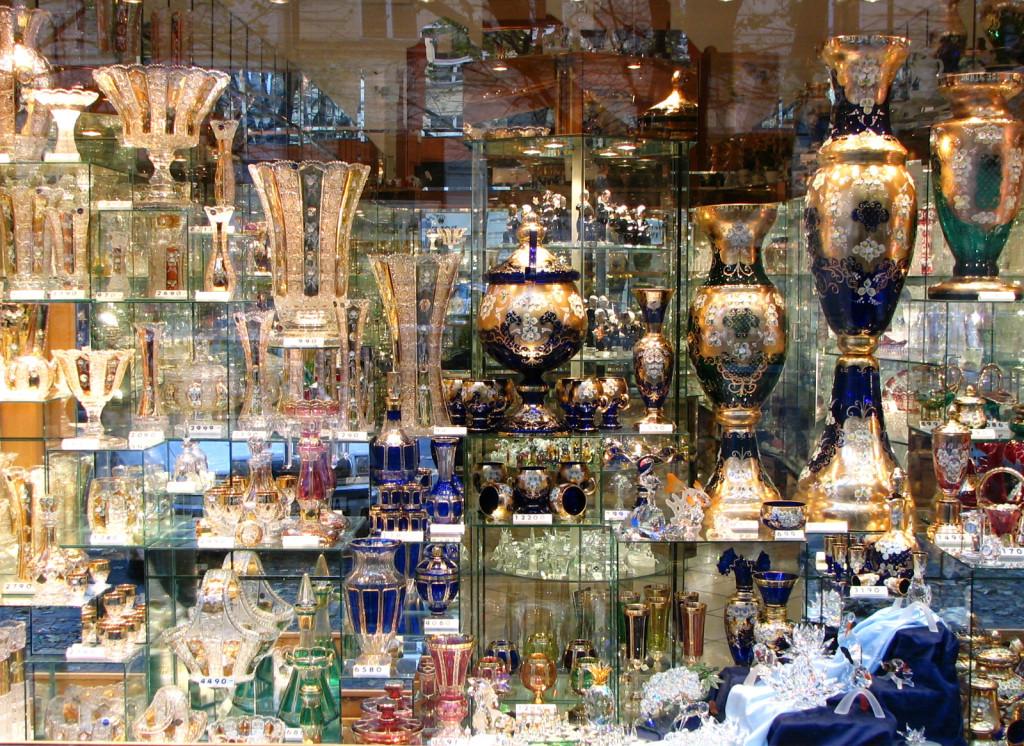 Что купить в Праге: №4 Чешский хрусталь
