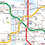 Схемы движения общественного транспорта Праги
