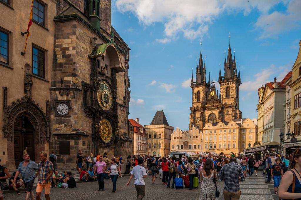 Староместская площадь в Праге — информация с фото, достопримечательности, как добраться