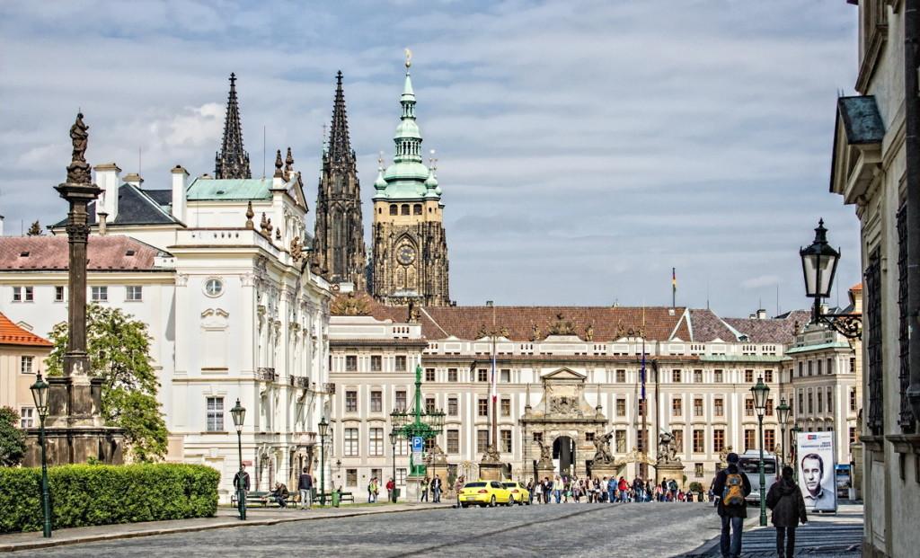 Прага за один день — начальная точка маршрута