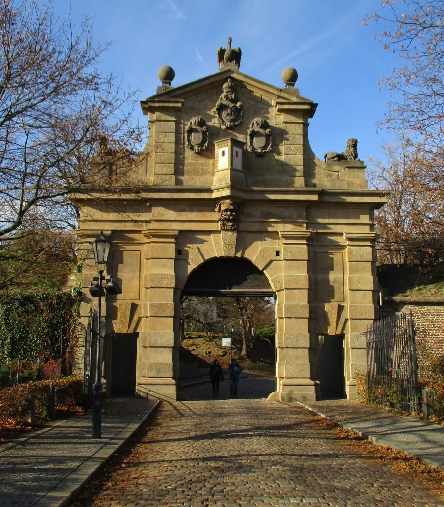 Главные ворота Вышеграда