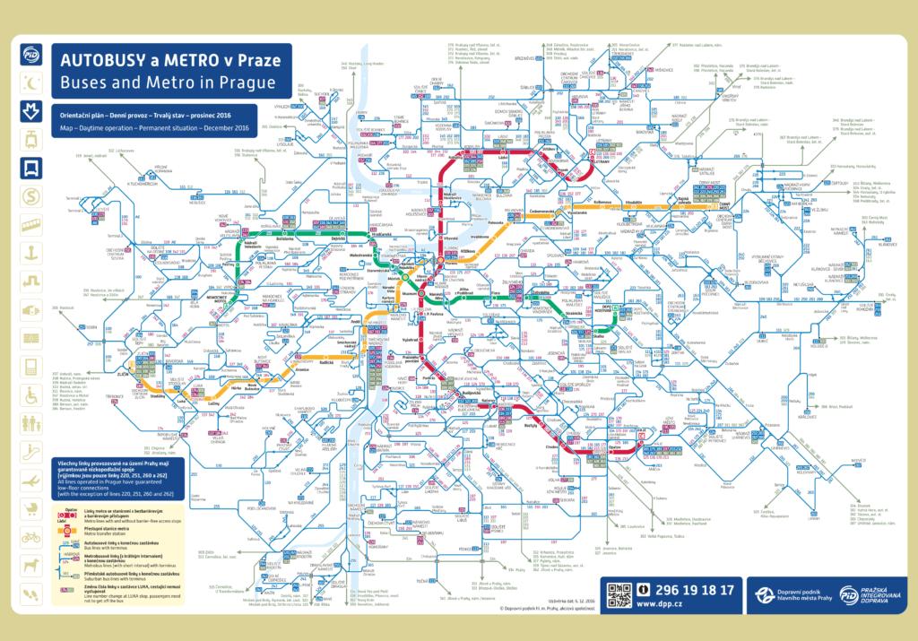 Схема метро и автобусных маршрутов
