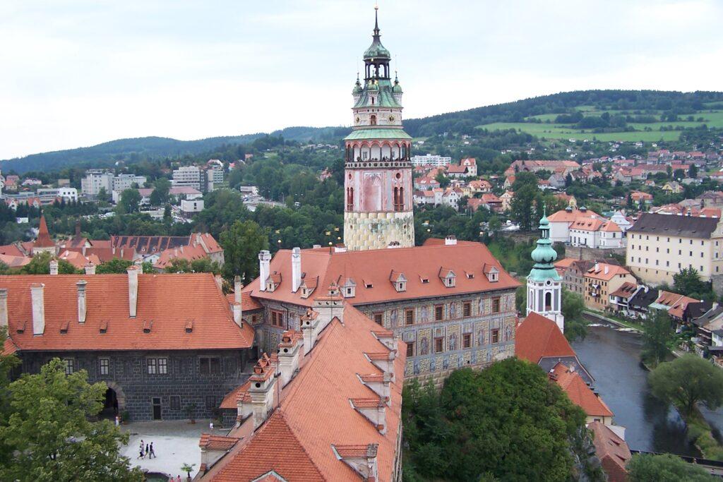 Замковая Башня Чески-Крумлова
