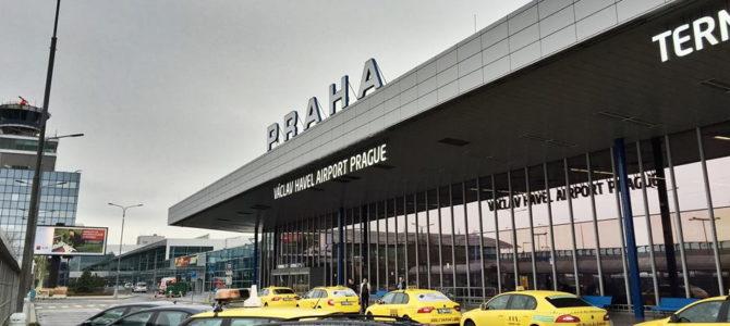 Как добраться из аэропорта Праги