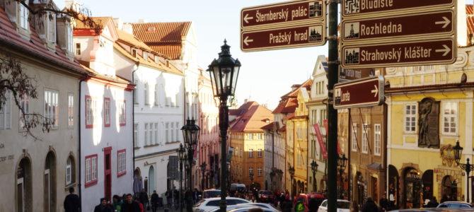Самые известные улицы Праги: районы Градчаны и Мала Страна
