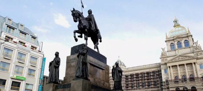 Памятник святому Вацлаву на Вацлавской площади