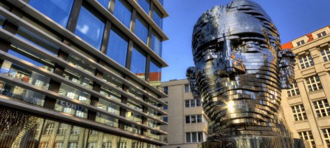 Памятники Францу Кафке в Праге