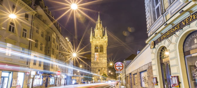 Йиндржишская башня в Праге