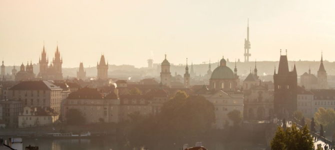Башни Праги, или Город тысячи шпилей