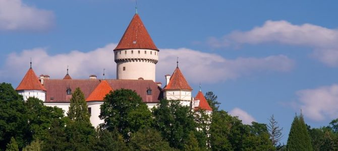 Замки Чехии. Конопиште