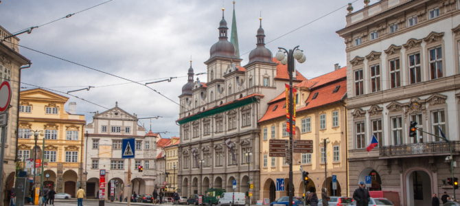 Малостранская ратуша в Праге