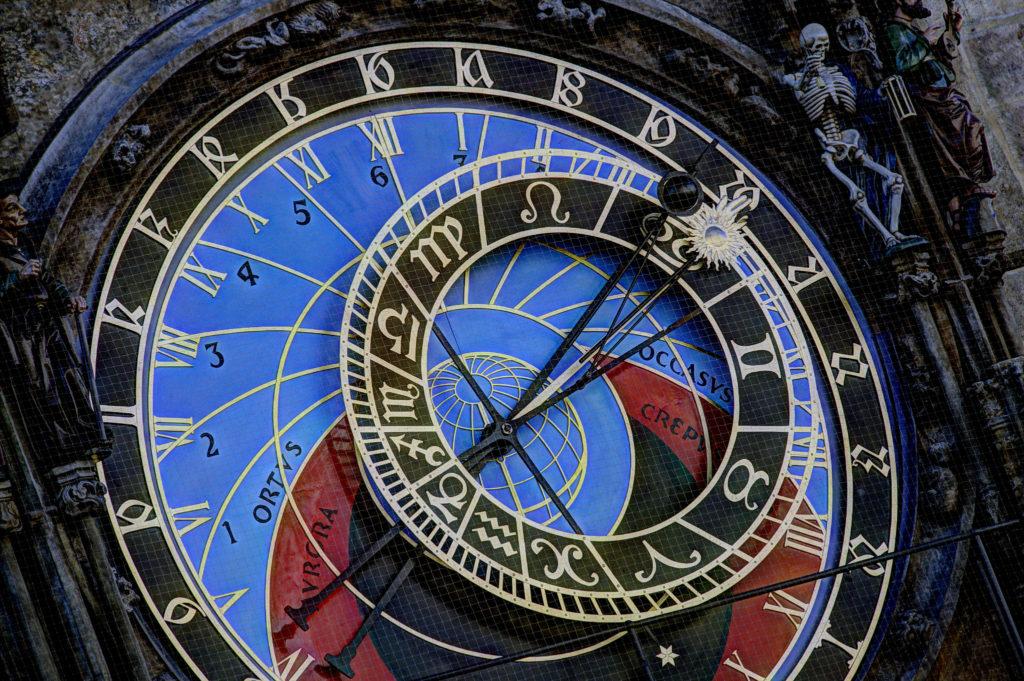 Астрономический циферблат пражских курантов