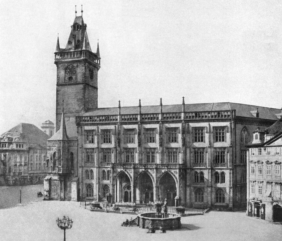 Староместская ратуша. 19 век.