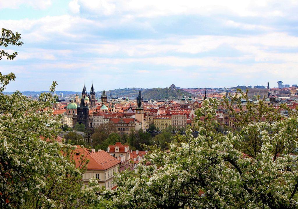 Весна в Праге 2020
