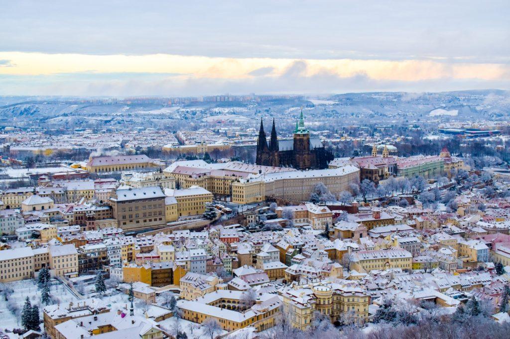 Зима в Праге 2020