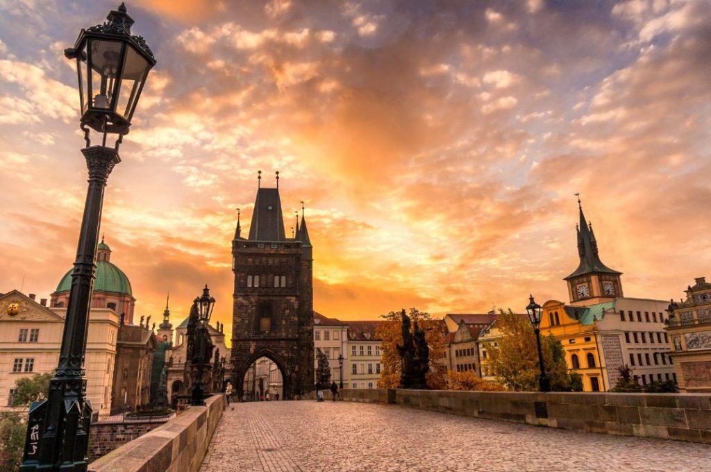 Осень в Праге 2020