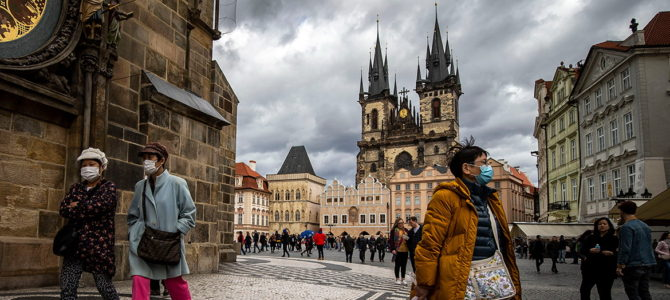 Коронавирус в Чехии. Чрезвычайное положение