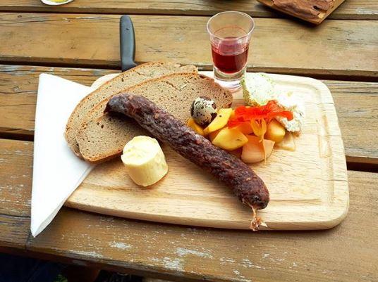 Австрийские сухие колбаски