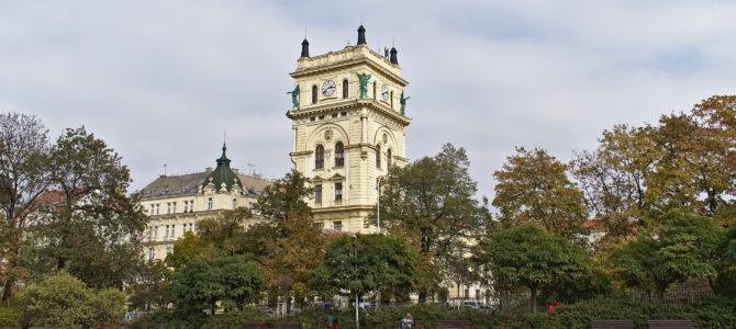 Водонапорная башня в Виноградах в Праге