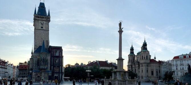 Марианская колонна на Староместской площади
