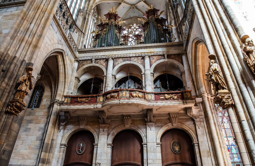 Орган в Соборе святого Вита