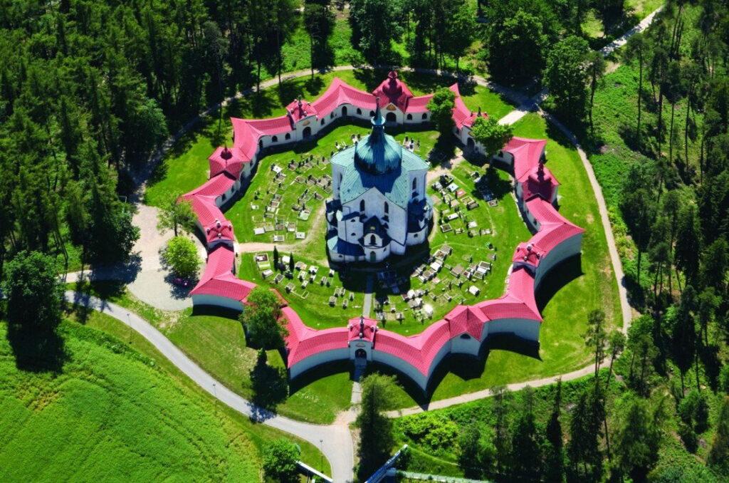 Церковь Яна Непомуцкого на Зеленой Горе, Моравия