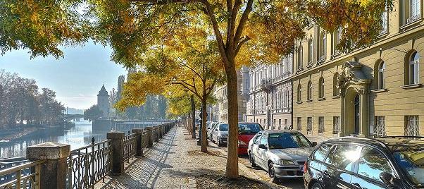 Прага в движении