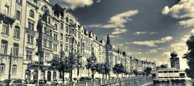 Набережная Масарика в Праге